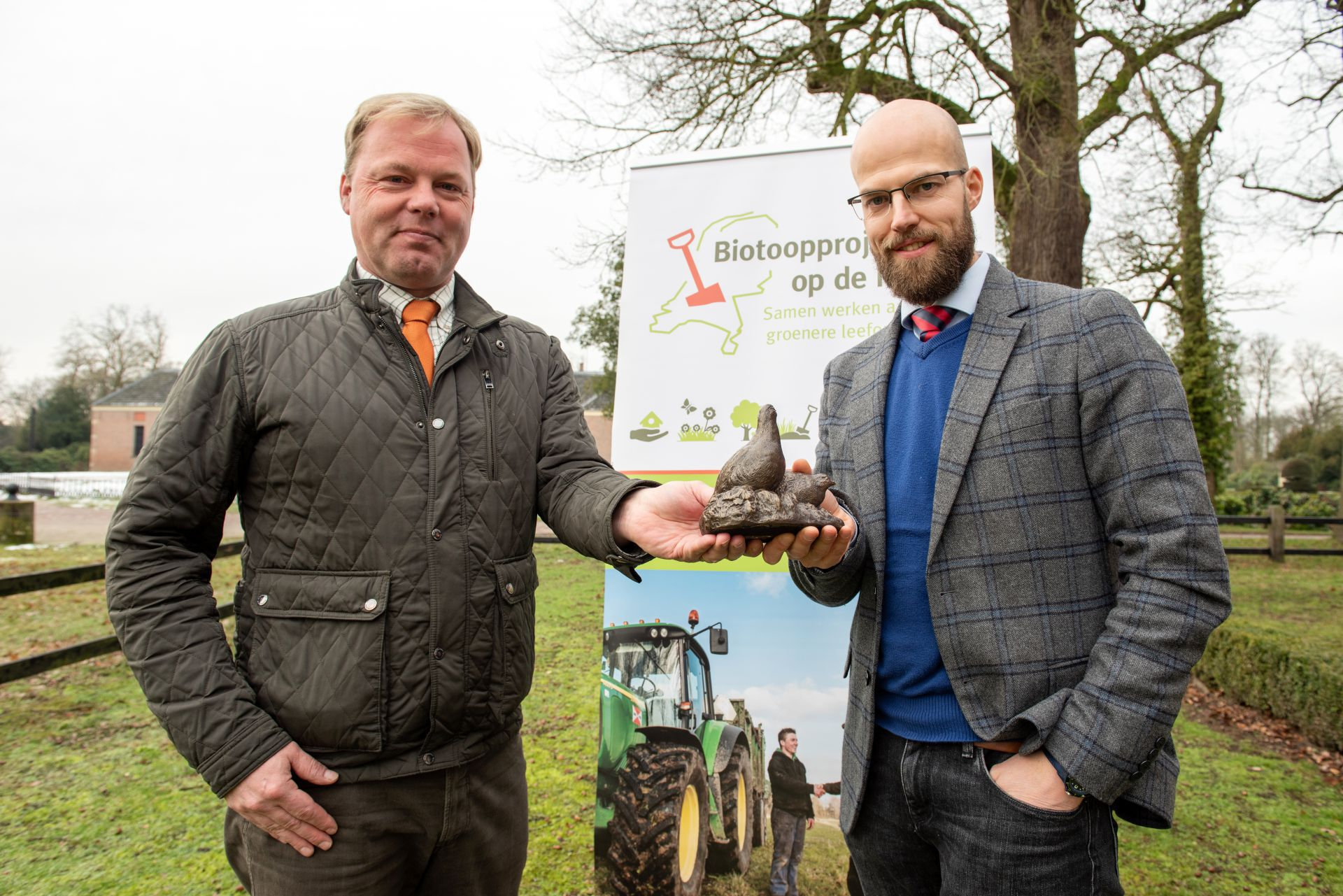 Landgoed Twickel start groot patrijzenproject