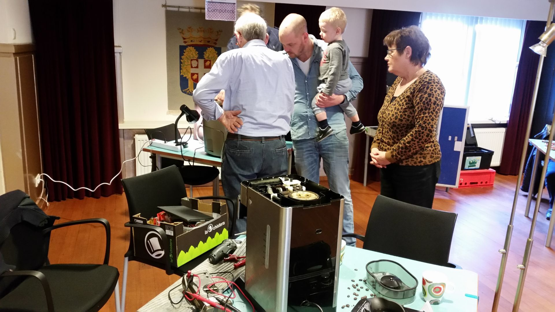 Repair Café & De Optimisten