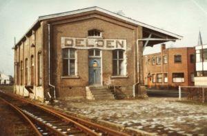 De geschiedenis van Delden in beeld - Goederenloods emplacement Delden