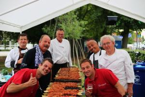 Traditionele barbecue Rolstoelvierdaagse