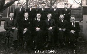 De geschiedenis van Delden in beeld - Diploma uitreiking Rode Kruis colonne Delden