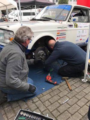 Pech achtervolgt Thom de Jong Rallysport in Centraal Nederland rally