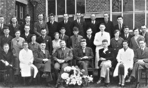De geschiedenis van Delden in beeld - Personeel Servo bij 10-jarig bestaan