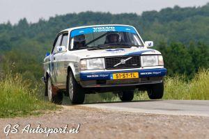Fraaie tiende plek voor team De Jong in Gronegau rally