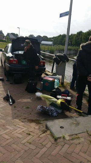 Politie vat visdieven in Delden in de kraag