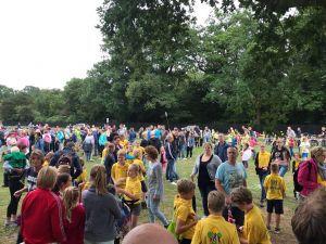 Dag 2 Wandelvierdaagse: 'Prima start met ruim 1000 deelnemers'