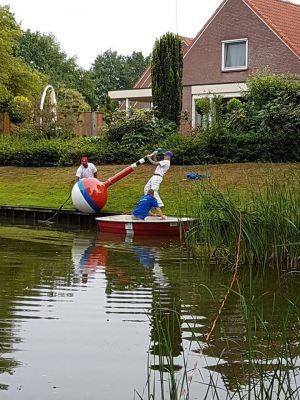 Na hengel nu ook dobber teruggeplaatst in Polvijver Delden