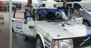 Deldens rallyteam komt topsnelheid te kort voor topklassering in Vechtdalrally
