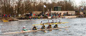 450 roeiers bezetten Twentekanaal bij Delden voor internationale wedstrijd