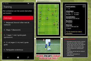 Digitaal-gestructureerde trainingen Rood Zwart van start