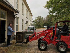 Negentiende-eeuwse kluis krijgt nieuw onderkomen op Twickel