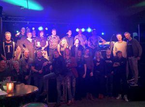 Rocknacht Delden viert eerste lustrum met 'geweldige avond'