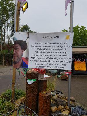 Jules Leenders ziet 21 keer Abraham