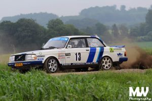 Team De Jong bij beste 15 in Duitse rally Gronegau