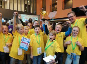 Legoleague-team Basisschool Twickelo plaatst zich voor Benelux-finale