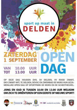 Gezamenlijke Open Dag Deldense sportverenigingen op 1 september