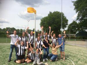 Korfbalvereniging Zwart Wit viert kampioenschap vier teams