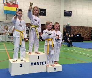 Eerste plaatsen voor Deldense jeugd bij Taekwondo kampioenschappen in Nijverdal