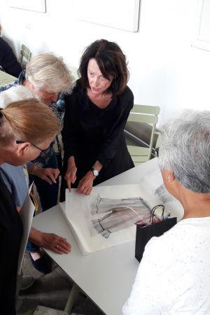 'Meet the artist' Twickelexpositie The Fabric of Time