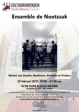 Ensemble de Nootzaak – Passie voor kamermuziek