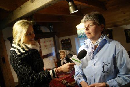 Carla Veldhof neemt afscheid als voorzitter Museumboerderij Wendezoele