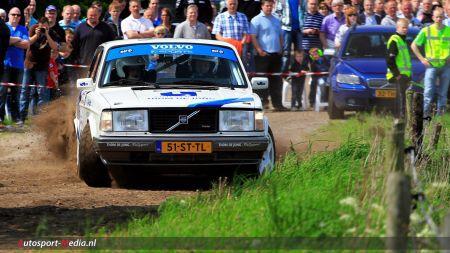 Team de Jong valt uit met pech in Sulingerland rally