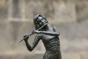 De Fluitspeelster