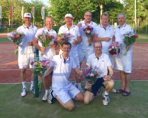 45+ team Tennis Club Delden naar de Europese Kampioenschappen