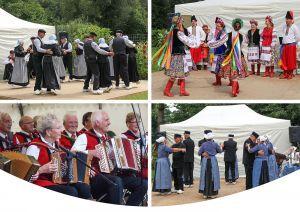 Folklore Festival bij Museumboerderij Wendezoele
