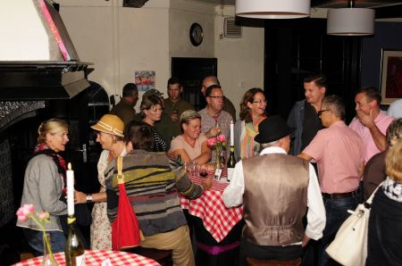 Gezellige en informatieve ondernemersavond ' Delden Terug Naar Toen'