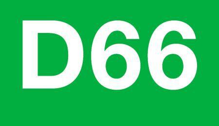 D66 Hof verheugd over onderzoek nieuwe spoorlijn