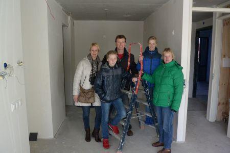 Ingezonden: Nieuwe bewoners bezoeken appartementen Peperkampweg