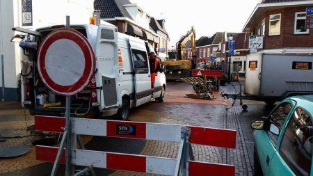 Herstel rioleringen in het centrum van Delden