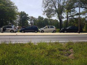 Meerdere auto's betrokken bij ongeval net buiten Delden