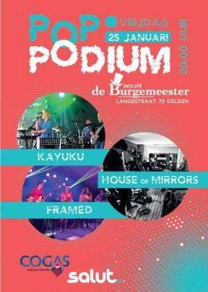 Band-avond bij 'Poppodium' in Delden