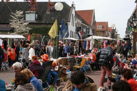 Koningsdag Delden met traditionele activiteiten