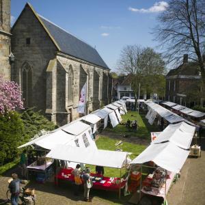 Producenten Twentse Streekmarkt Delden - Twente Bok en lam van Bauke