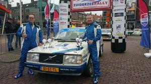 Knappe 3e plaats voor team De Jong in de Zuiderzeerally