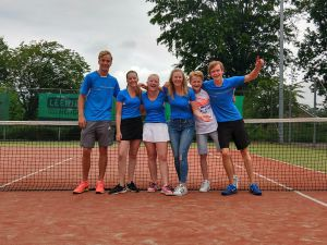 Eerste jeugdteam Tennis Club Delden kampioen