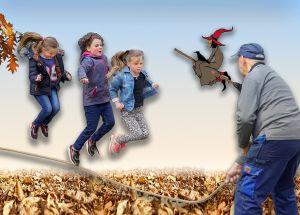 Kinderspeelmiddag bij Wendezoele in herfstvakantie