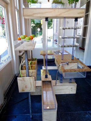 'De Versfabriek' van Debbie Lambrechts te zien in Kunststation Delden