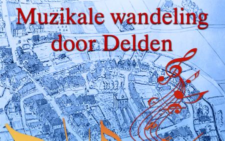 Routeplanner Muzikale Wandeling door Delden