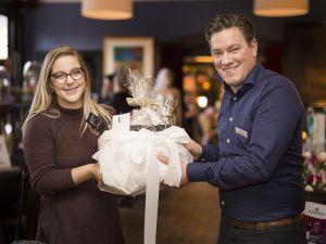 Jorien Koster wint pretpakket ter waarde van €2250,00 bij bruidsbeurs